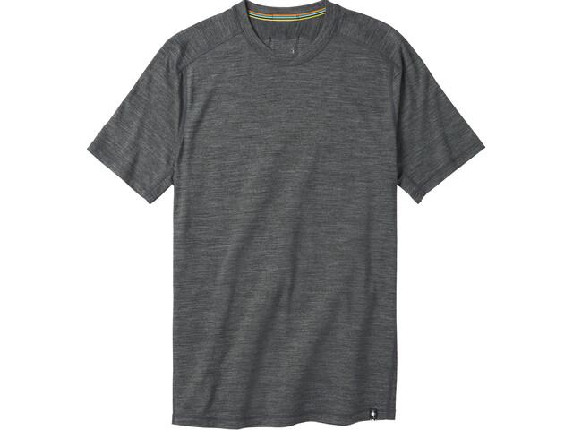 Smartwool Merino Sport 150 Tech Camiseta Hombre, medium gray heather